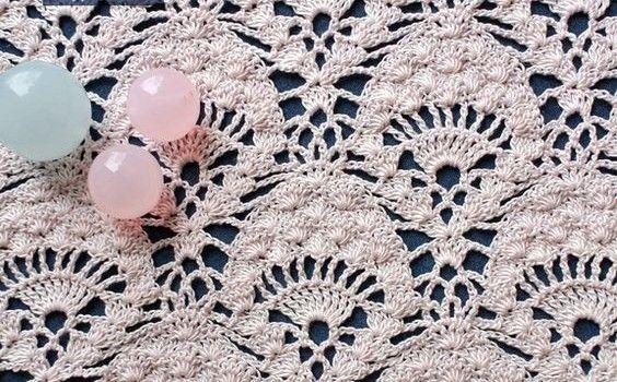 Peacock Lace Crochet
