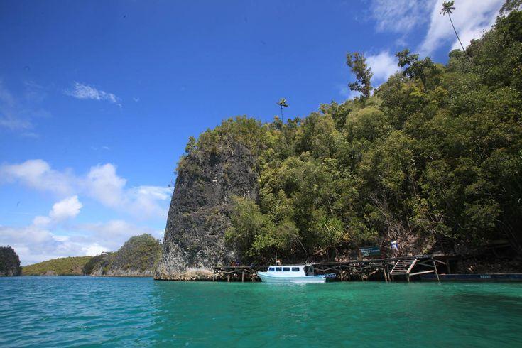 Pulau Pianemo Wayag Versi Mini di Papua Barat - Papua Barat
