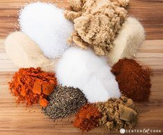 Dry Rub for Ribs, Chicken and More A super simple dry rub recipe that's perfect for ribs, chicken, pork, and brisket! This dry rub is the perfect combination of spices that will take your grilling to the next level!