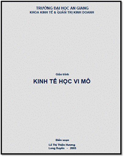 Giáo Trình Kinh Tế Học Vi Mô (NXB Long Xuyên 2005) - Lê Thị Thiên Hương, 196 Trang | Sách Việt Nam
