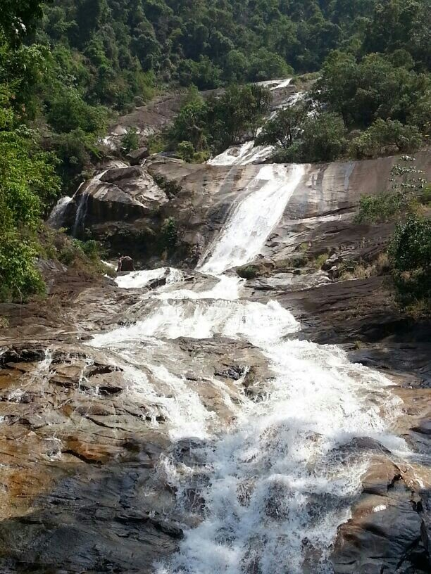 Waterfall near Trang Thailand