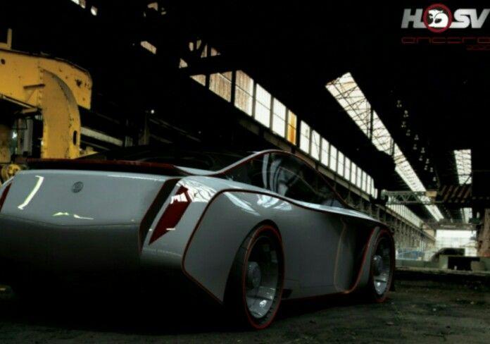 At the Warehouse HSV Commodore Coupe 2020 Concept design