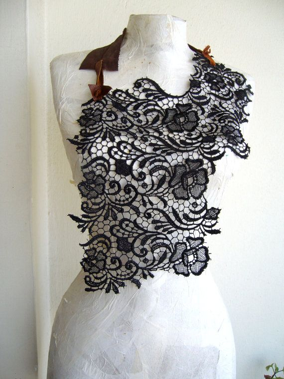 Body harness lace/giuppiure lace collar with by SonizDesign