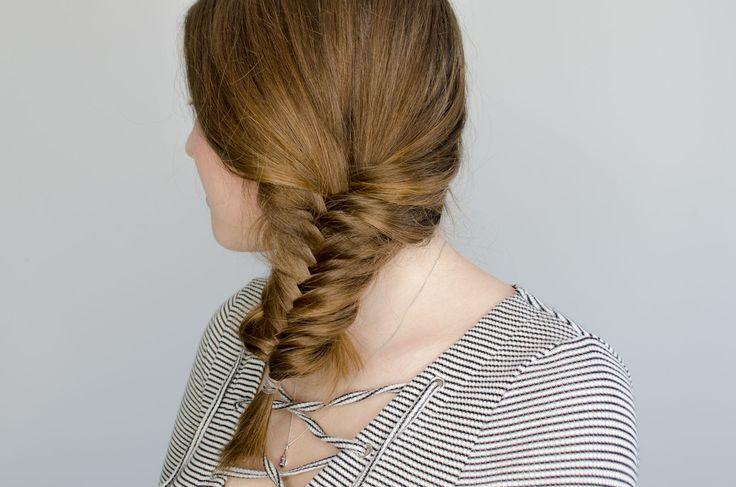 Fishtail Plait Hairstyle