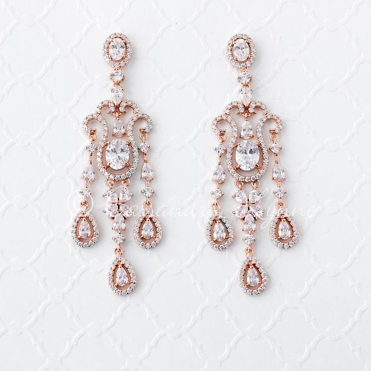 17 Best ideas about Bridal Chandelier Earrings – Cz Chandelier Earrings
