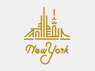 Simple and elegant #NYC skyline #design