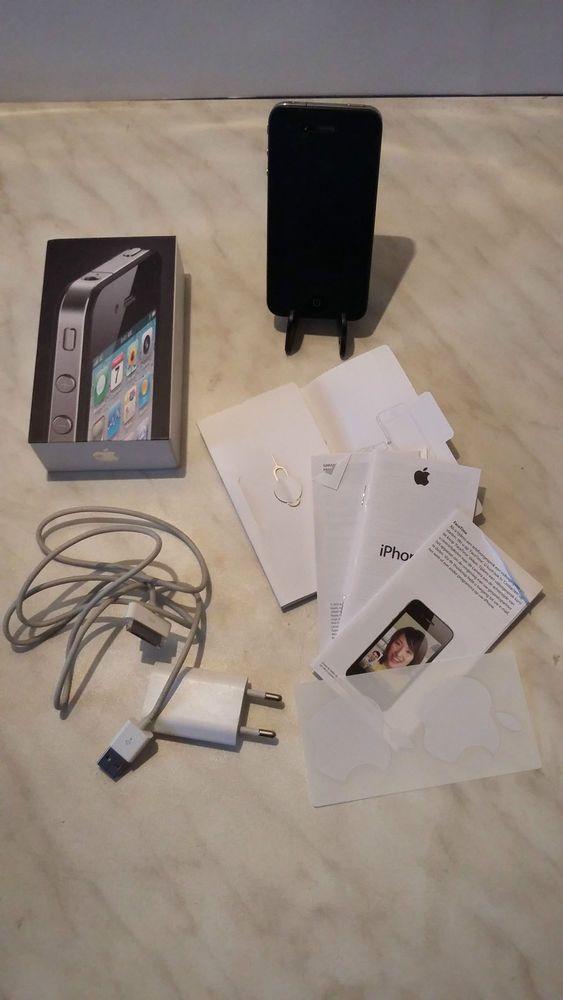 Apple iPhone 4 - 16 GB, schwarz, ohne Simlock, gebraucht