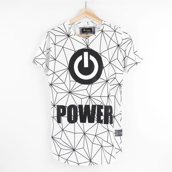 Power Erkek Tişört BY1251 Beyaz