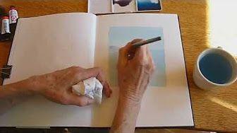 Watercolor Sketching & Journaling - Part 3 - Gay Kraeger - YouTube