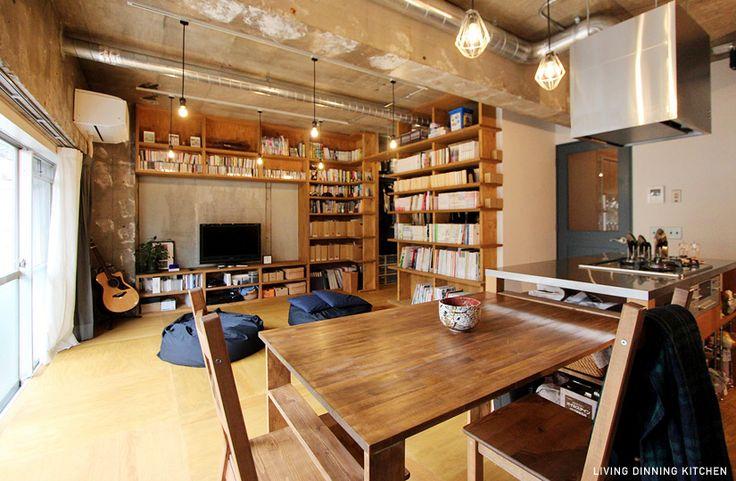 本屋と食堂01