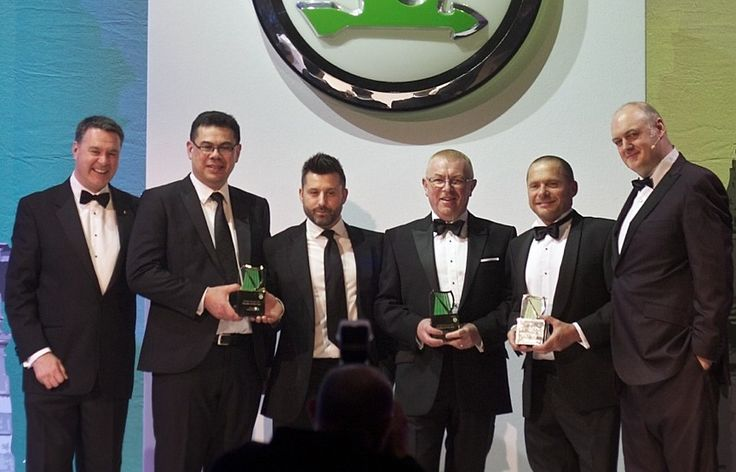 News - Vindis SKODA in Bury St Edmunds crowned Retailer of the Year for 2012