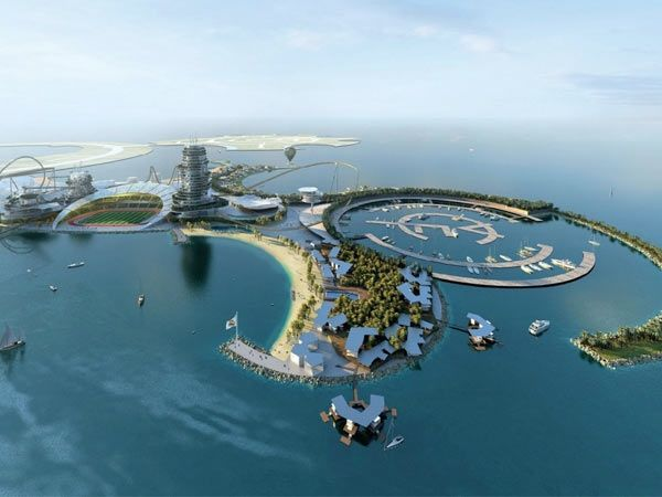 By 2015, Real Madrid will finally have a1 billion dollar man-made island all to itself. The 4.6 million square-foot Real Madrid Island Resort will be the first of its kind — a luxury resort, seaside getaway, amusement park, and soccer tourist destination all rolled into one in the UAE.