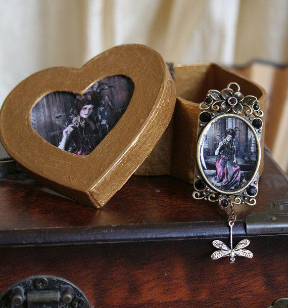 Dia de Lost Muertos  Gorgeus Dark Framed Art by Mizzdraconia, $68.00