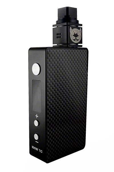 Tesla 160 Watt TC Box Mod with Temperature Control #vaping #subohm Use Code:YEAHBABY For 10% OFF