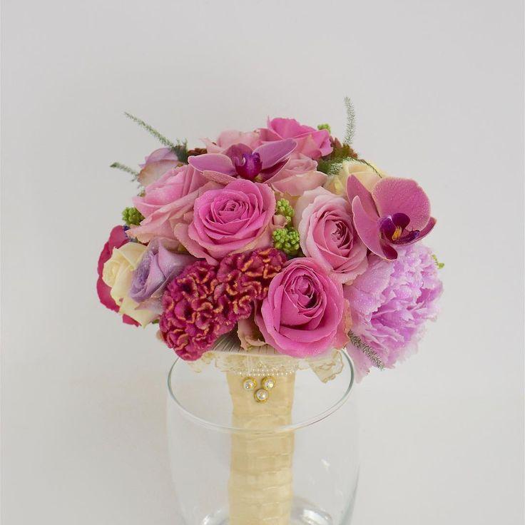 """Natys Floral Design & Services on Instagram: """"Monique's wedding bouquet.Visit www.natysbridal.com.#design #flowerdesign #flowerarrangement #weddingideas #colour #wedding #bridal…"""""""