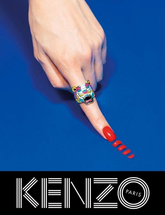 Kenzo Embraces Fantasy for Fall 2013 Campaign with Rinko Kikuchi