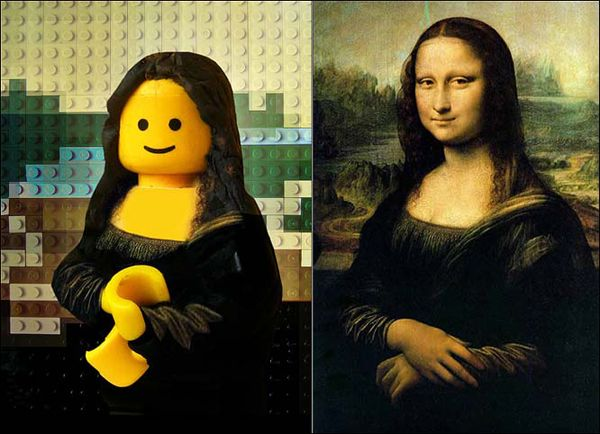For your dose of design inspiration, I've put together today a really cool gallery of famous paintings recreated with Lego pieces. Yes, you've heard me. Lego pieces. They're pretty awesome, if you think about the level of detail and amount of time and creative energy that was put into them.