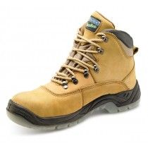 Click Traders Steel Toe Cap S3 Thinsulate Boots Tan