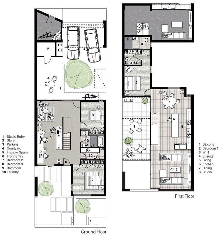 plan green title house