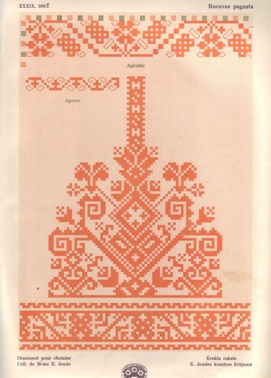 Gallery.ru / Фото #59 - Латышский орнамент - lenadep