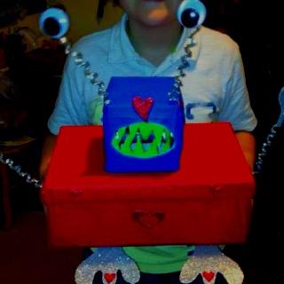 Valentines day Alien