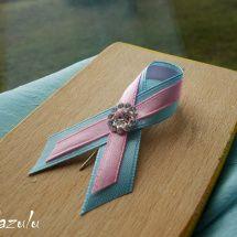 svatební vývazky modro & ružová a jiné kombinace