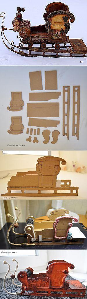 "Sledge for toys or dolls ""Styling antique"" - Fair Masters - handmade, handmade"