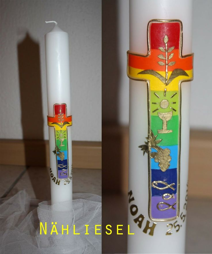 Kommunionkerze - candle for the first communion