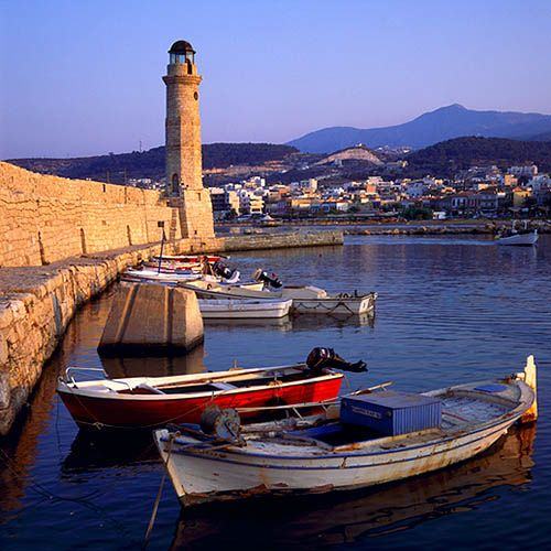 Rethymno Crete Greece