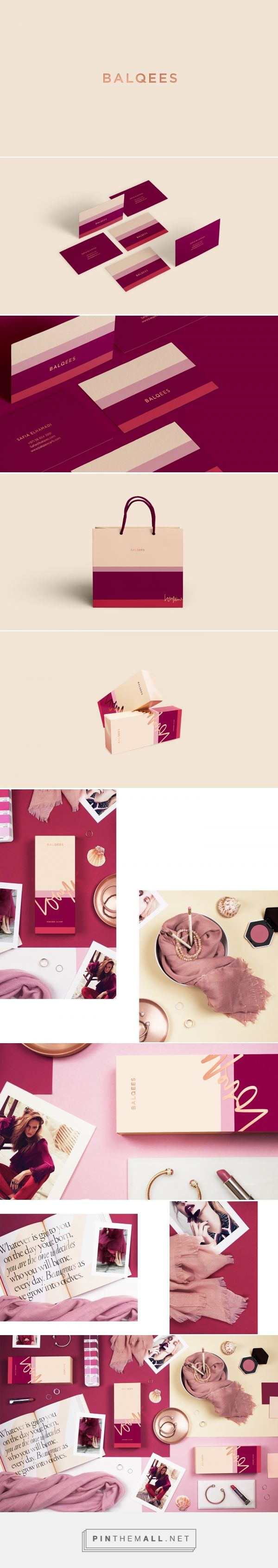 Balqees Fashion Branding and Packaging by Alaa Amra | Fivestar Branding Agency – Design and Branding Agency & Curated Inspiration Gallery