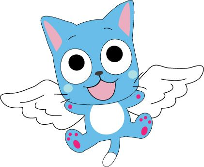 Happy The Cat from fairy tale | HAPPY FROM Fairy Tail by Mokulen22 on deviantART