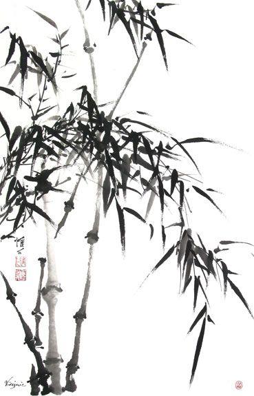 Chinese Brush Painting: bamboo