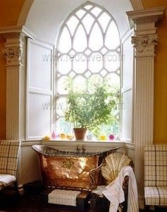 I could never care for a copper tub, but it sure is beautiful.