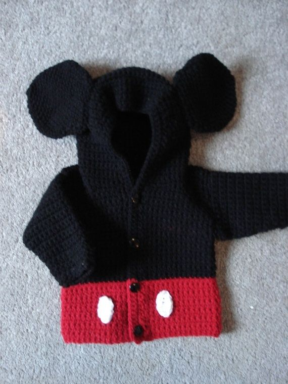 Mickey Mouse crochet pattern by pearl808