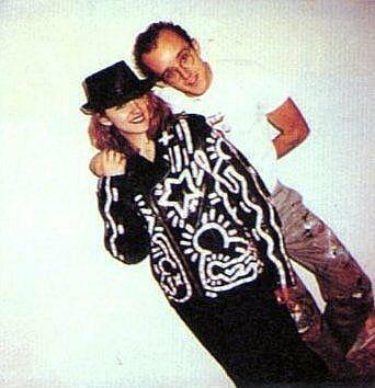 Keith Haring Madonna