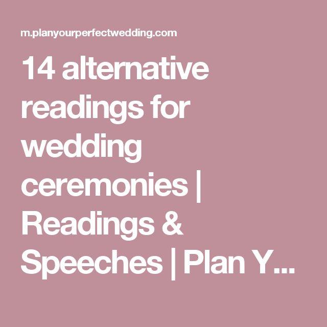 The 25+ Best Wedding Readings Funny Ideas On Pinterest