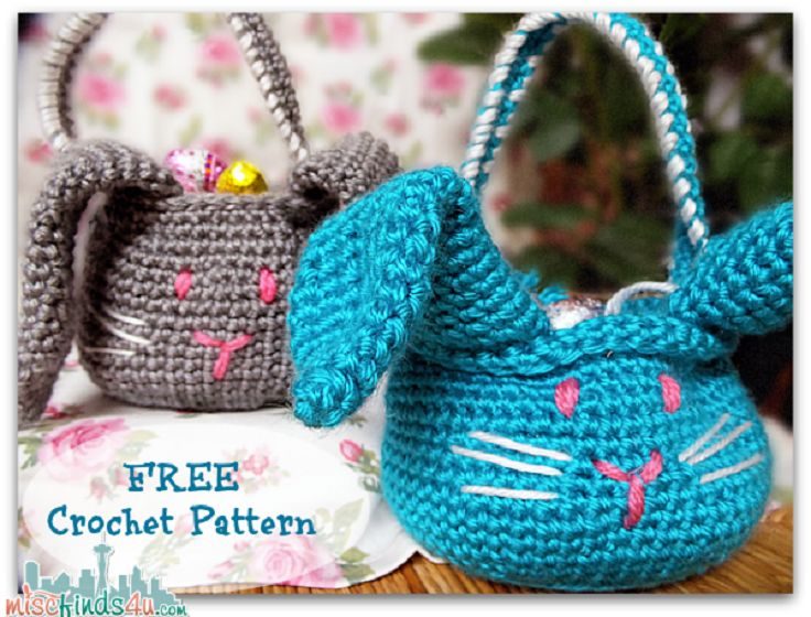 8 Free Easter Crochet Patterns ? Crochet Tutorials and ...
