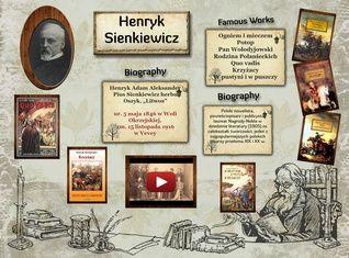 Henryk Sienkiewicz (05.05.1846-15.11.1916)