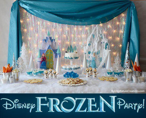 Fiesta frozen para ni os decoraci n para fiestas - Ideas decoracion infantil ...