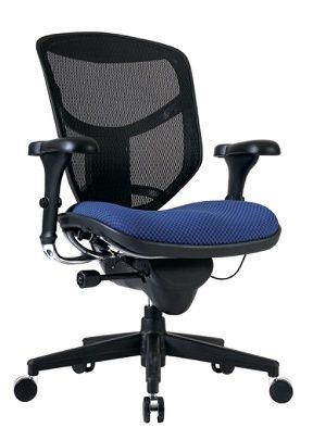 WorkPro Quantum 9000 Series Mid Back MeshFabric Chair BlackRoyal By Office  Depot U0026 OfficeMax