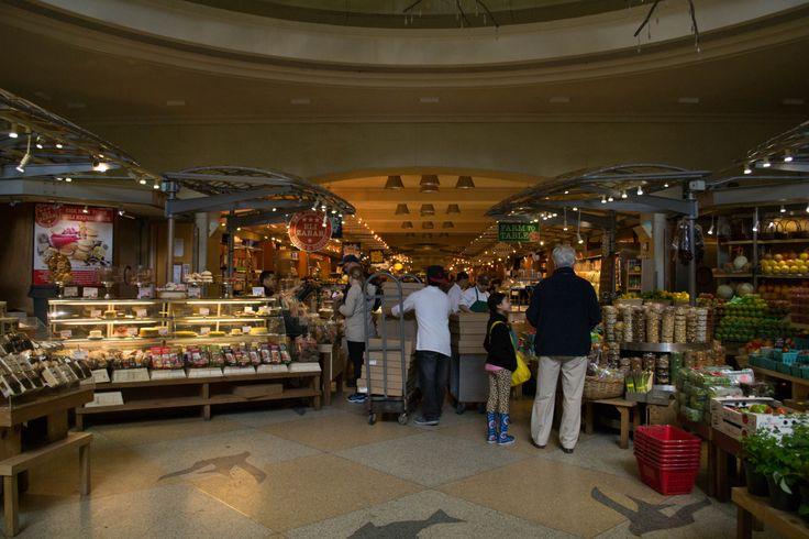 Entering Grand Central Market