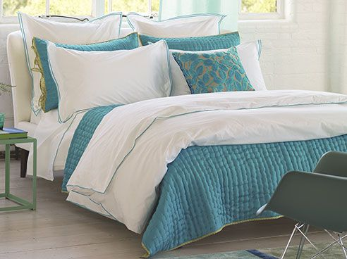 Astor Jade by Designers Guild Bedding