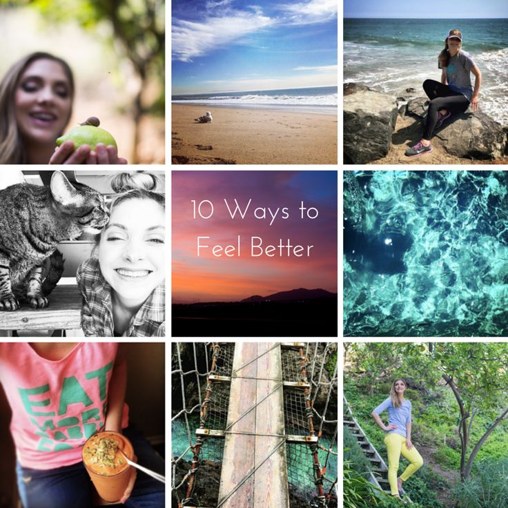 10 Ways to Feel Better, When You Feel Like Crap. | Healthy. Happy. Life. | Bloglovin'