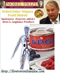 Nobel Prize Winner Dr. Ferid Murad Endorses Forever Argi+ Best L-Arginine Product.Arctic Sea Omega-3 one of the most important nutritional product : The primary disease over the world come from cardiovascular problems and or insufficient blood circulation. The high quality of Omega 3 helps to balance the cardiovascular system by improving the function of the optimal blood circulation. Www.ourbodyforever.com