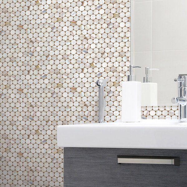 Villicana Circle Tile 9 8 L X 19 6 W Peel And Stick Wallpaper Roll Circle Tiles Peel And Stick Wallpaper Wallpaper Roll