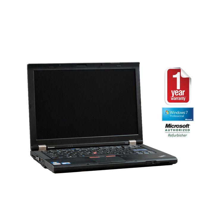 "Lenovo T410 refurbished laptop PC I5-2.4/4096/250/Dvdrw/14""/W7P64/Webcam"