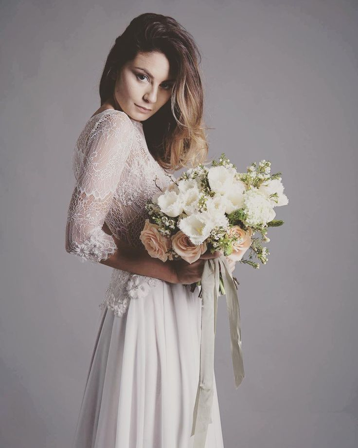 Everything about this is a floral lover's dream! 'Freya' gown