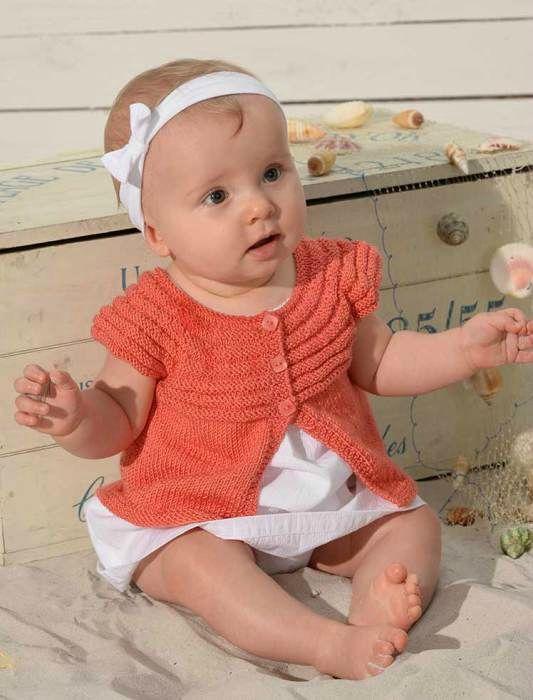 Veste printanière pour bébé de La Malle aux Mille Mailles - free