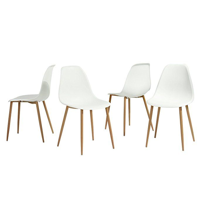 Greenforest Eames Dining Chair Metal