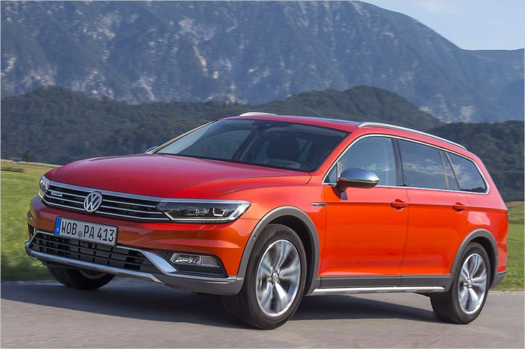 Ab sofort hat VW den Passat Variant auch als Crossover-Modell namens Alltrack im Programm